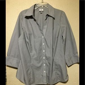 Lot of 4 Woman's Button  Down Tops